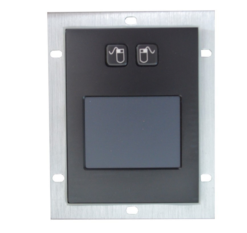 Tablette tactile en métal noir avec clavier tactile étanche clavier marin