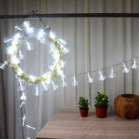10m Waterproof LED String Lights New Year Christmas Tree garlands Lamp Xmas Curtain Decorations Festival Fairy Led Light Outdoor