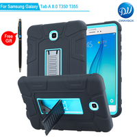 DWAYBOX Case For Samsung Galaxy Tab A 8 0 T350 T351 T355 3 In 1 Combo
