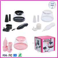 New Version Electric Auto Makeup Brush Cleaner Dryer Make Up Brushes Cleanser Brush Cleaning Machine Cosmetic