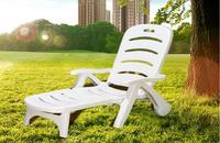 Thicken Pool Folding Sun Loungers portable deck chair Outdoor leisure beach chiar Garden Chair