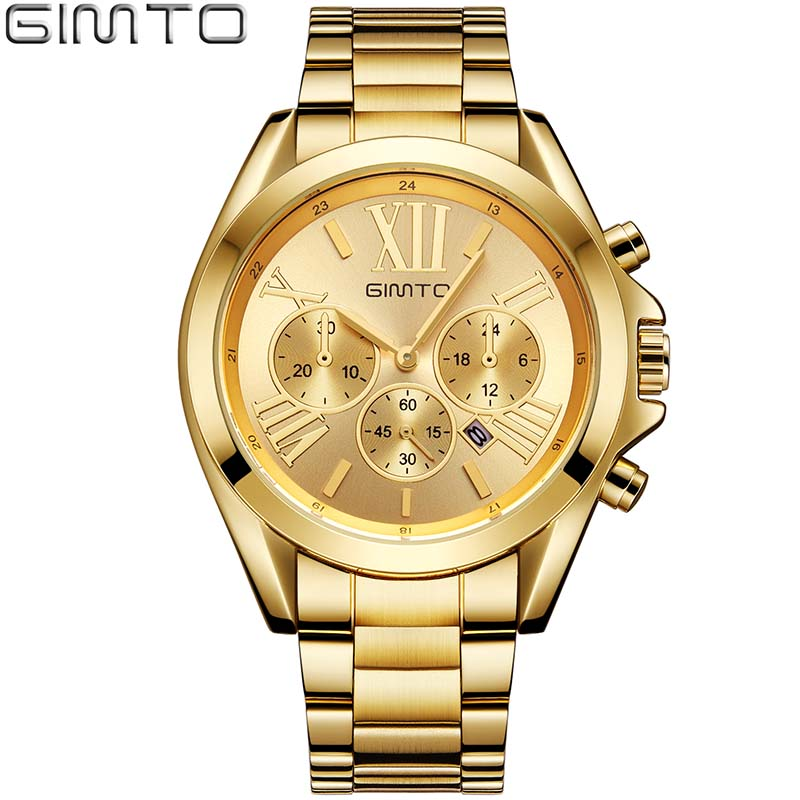 Women Watches Luxury Brand Clock Fashion Rose Gold  Roman Quartz Ladies Watch Sport Female Wristwatch GIMTO Relogio montre femme megir brand luxury women watches fashion quartz ladies watch sport relogio feminino clock wristwatch for lovers girl friend