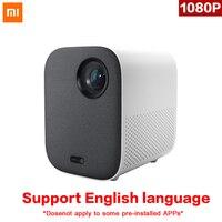 Оригинальный Xiaomi Mijia мини-проектор DLP Портативный 1080 p Поддержка 4 K видео 3D WI-FI 500 ANSI светодиодный проектор ТВ full HD для домашнего Кино