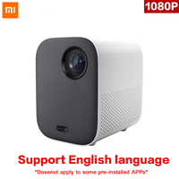 Original Xiaomi Mijia Mini Projector DLP Portable 1080p Support 4K Video 3D WIFI 500 ANSI LED Beamer TV Full HD for Home Cinema