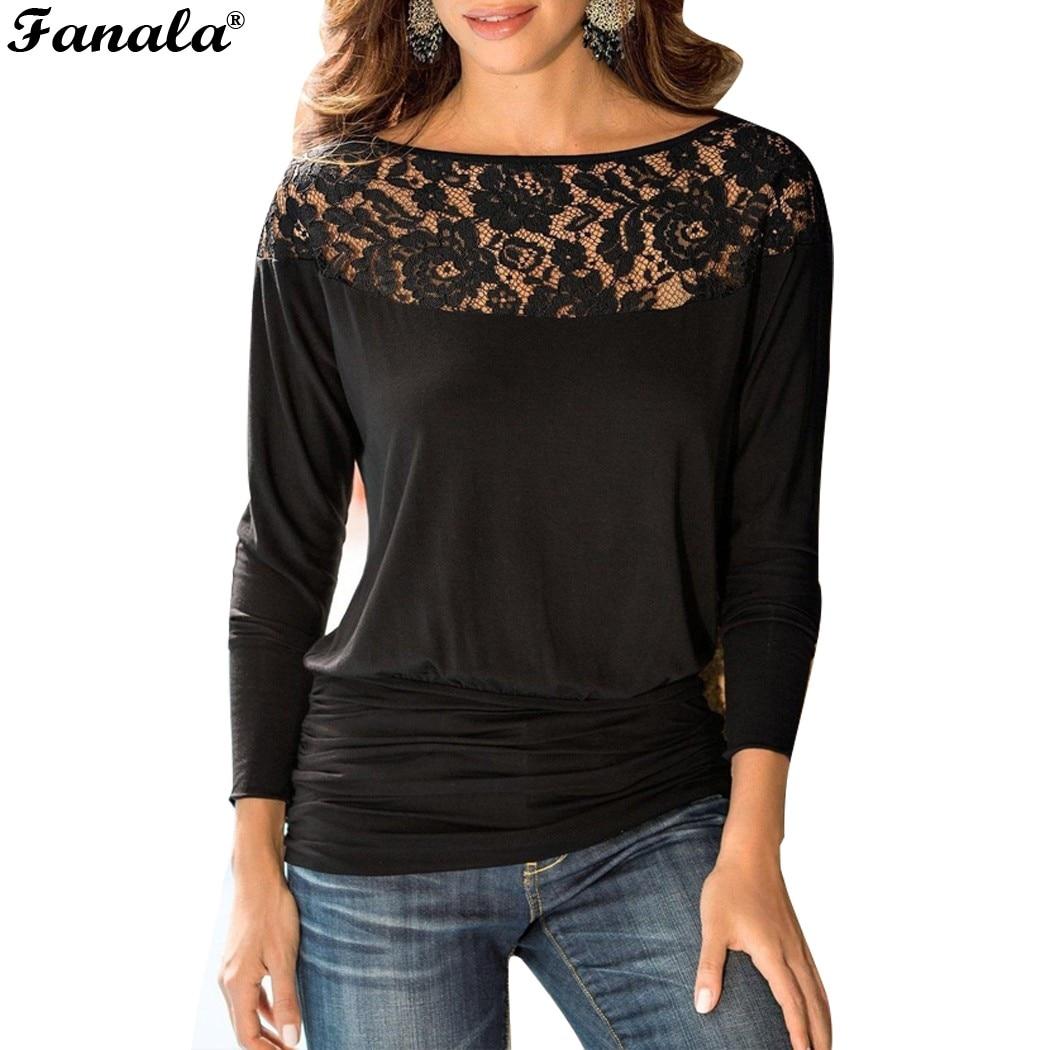 Buy Fanala Autumn T Shirt Women Raglan