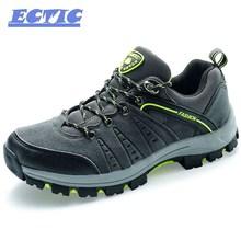 2017 ectic срабатывает wateroof походные ботинки мужчины Профессиональный Открытый Поход Восхождение горная обувь дышащие кроссовки