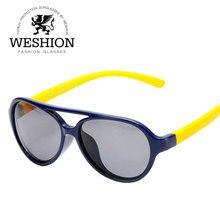 SOZO Kids TAC поляризованные солнцезащитные очки TR90 Гибкая защитная рамка для мальчиков и девочек с двойным мостом модные очки детские оттенки