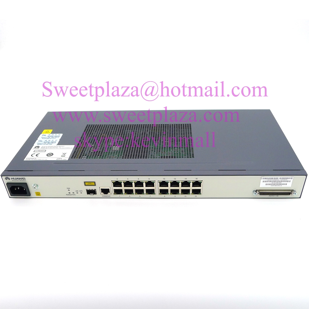 Temperate Original Hua Wei 10g Onu/switch Smartax Ma5822-16 With 1*10g Uplink Port Modems Computer & Office 16 Fe Lan Ports+16 Pots/voice Ports From Ma5820 Serie