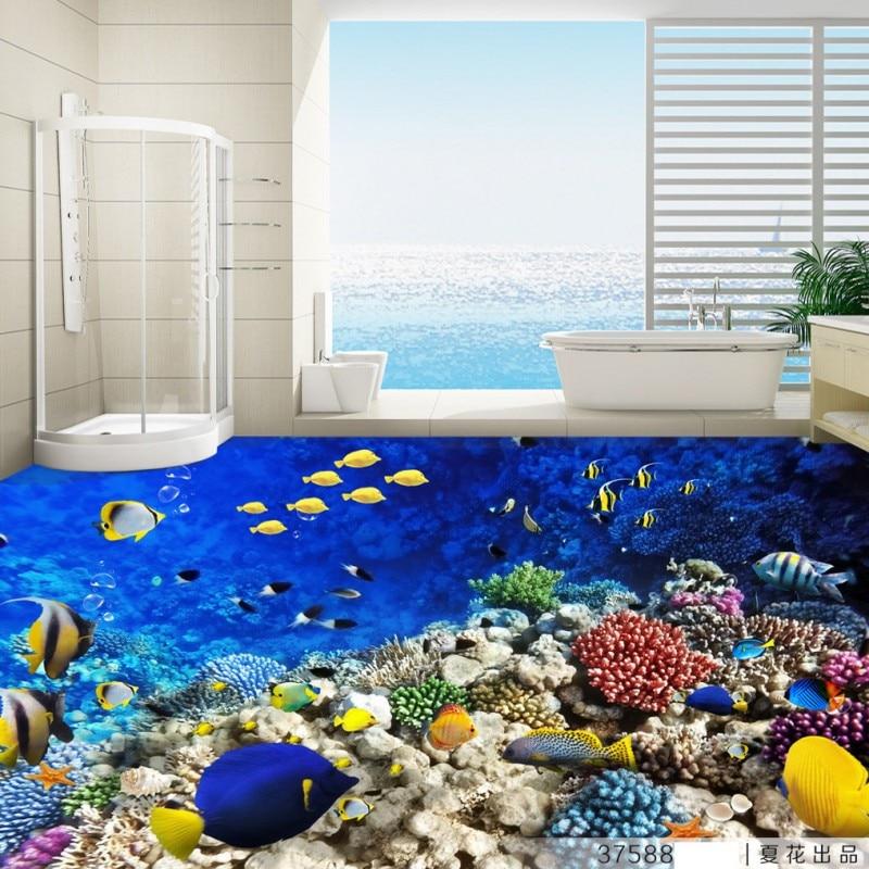 Study Room With Aquarium