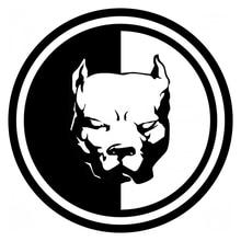 CS-548#15*15cm Sticker on the car Pitbull version 6. funny sticker and decal silver/black vinyl auto stickers
