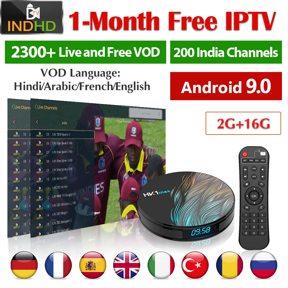 IPTV Italy Turkey India IP TV Ex Yu Africa Poland 1 Month IPTV Free HK1 Max Arabic France Somalia IPTV Subscription India IP TV-in Set-top Boxes from Consumer Electronics