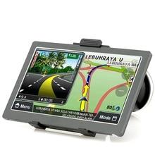KMDRIVE 7 pouce Voiture GPS Navigation Sat Nav 256 RAM/8 GB Mémoire Bluetooth AV-IN avec Nouvelles Cartes