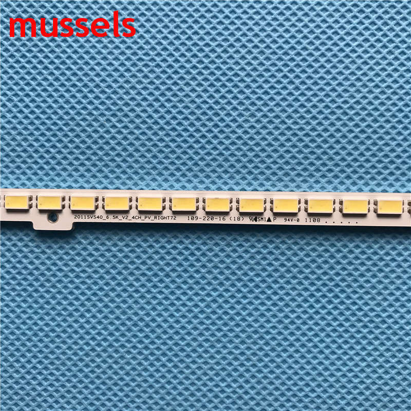 """Image 3 - LEDBacklight strip For SamSung 40""""TV 440mm UA40D5000 UA40D5000 BN64 01639A LTJ400HM03 h 2011SVS40 FHD 5K6KH1 UE40D5700 UE40D6100-in Industrial Computer & Accessories from Computer & Office"""