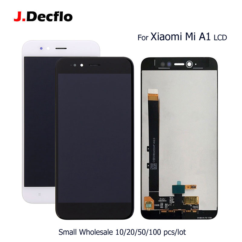 10/20/50/100 pcs/lot For Xiaomi Mi A1 Mi 5X LCD Display + 100% Tested Touch Screen Digitizer Assembly No Frame Original 5.510/20/50/100 pcs/lot For Xiaomi Mi A1 Mi 5X LCD Display + 100% Tested Touch Screen Digitizer Assembly No Frame Original 5.5
