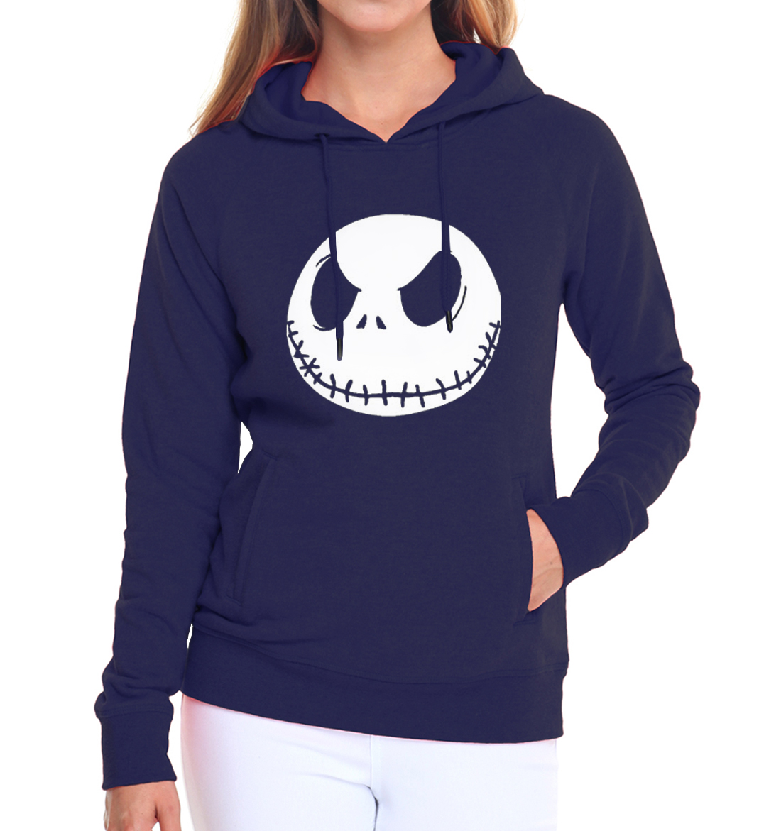 female streetwear kpop brand tracksuits Jack Skellington women casual sweatshirts 2019 autumn hip-hop long sleeve pink hoodies