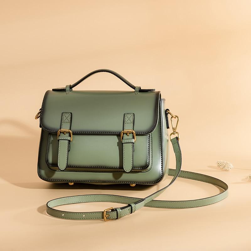 все цены на PASTE Real Genuine Leather Handbag Luxury Brand Handbags Women Bags Designer Shoulder Bag Female Crossbody Bags For Women 2018 онлайн
