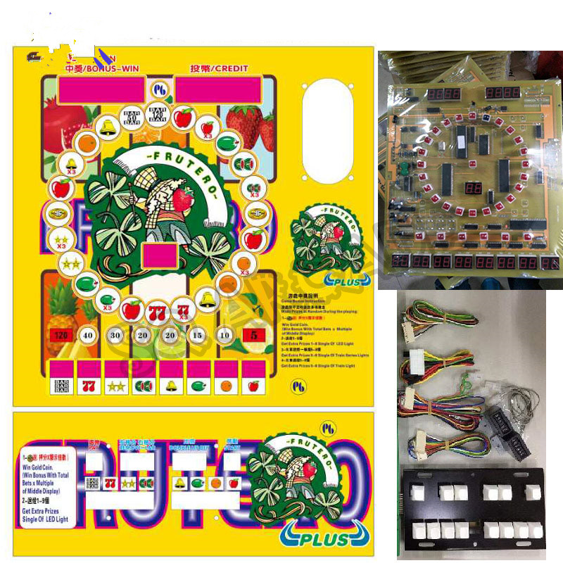 цена на fruit PCB plate Mario with wiring for the casino / slot board game of the arcade game machine.