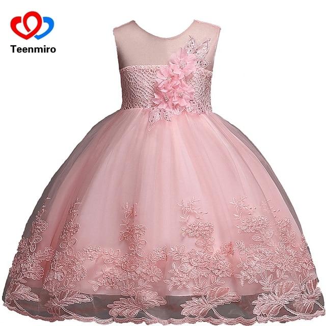 07716b327 Fancy Girls Dress Elegant Children Princess Frocks Tulle Baby ...