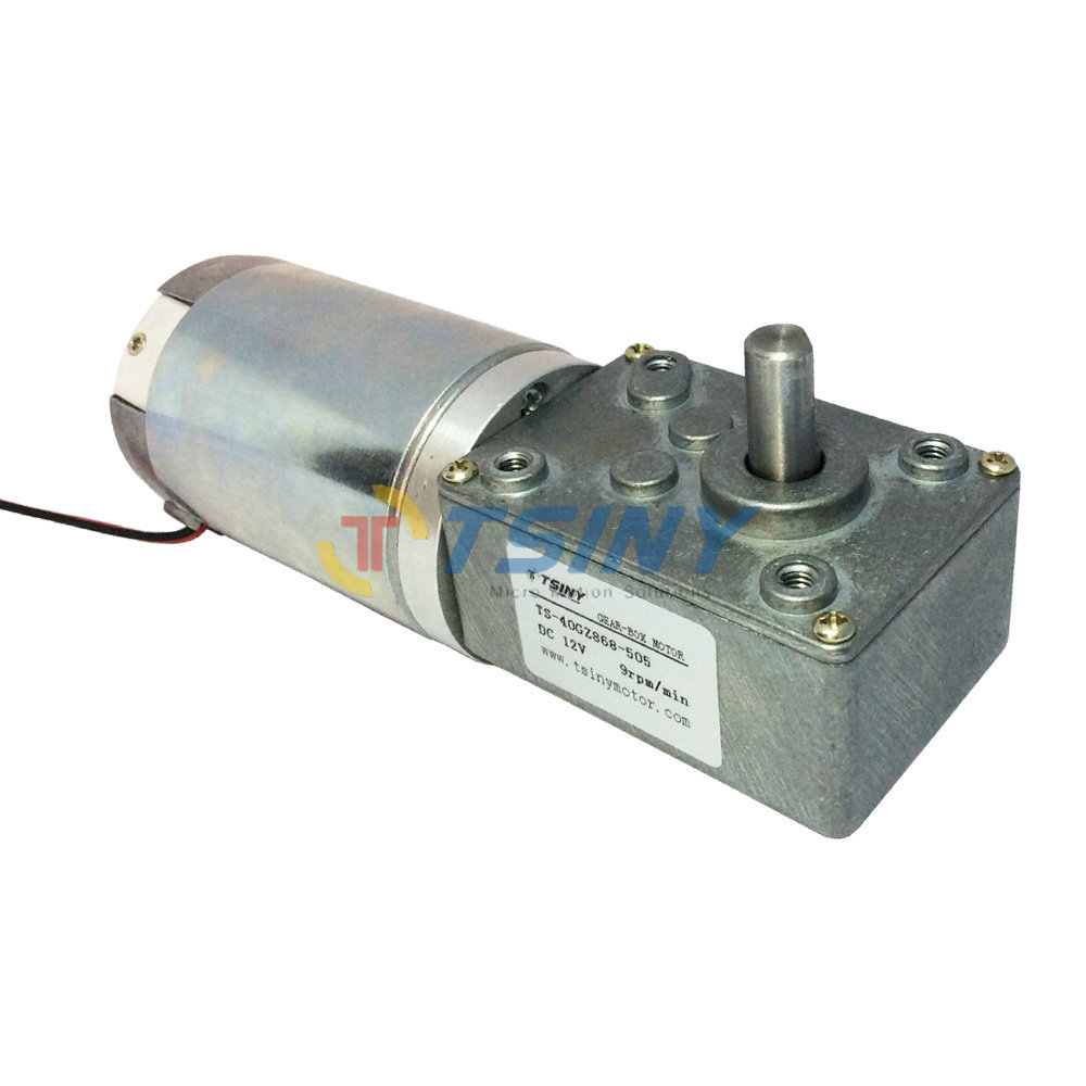 buy dc 12v 9rpm gear motor 44mm dc motor