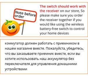 Image 5 - Zemismart Interruptor de pared inalámbrico con Control de voz para el hogar, Alexa Echo, Google Home, No necesita batería para bombilla halógena, ventilador de techo