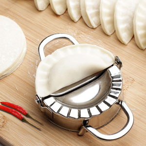 Easy DIY Dumpling Mold Dumpling Wrapper Cutter Making Machine Cooking Pastry Tool Kitchen Tools Dumpling Jiaozi Maker Device(China)