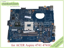 laptop motherboard for acer aspire 4741 MB.BJE01.001 JE40-CP MB 48.4GY02.031 MBBJE01001 HM55 GMA HD DDR3