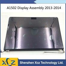 """本物のアップルの Macbook Pro の 13 """"網膜 A1502 後期 2013 ミッド 2014 フル Lcd ディスプレイ画面アセンブリの修理部分 661 8153"""