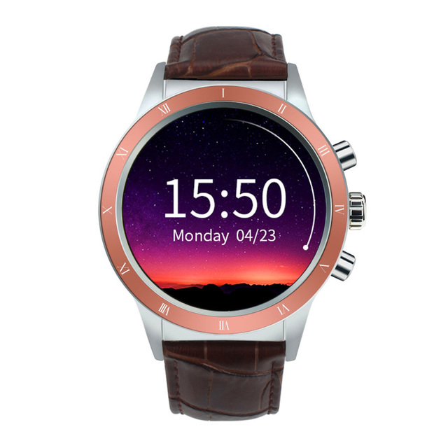 Bluetooth Smartwatch 1.39inch Full View Screen MTK6580 Quad Core 380mAh Battery WiFi GPS Heart-rate Call Reminder Smart Watch