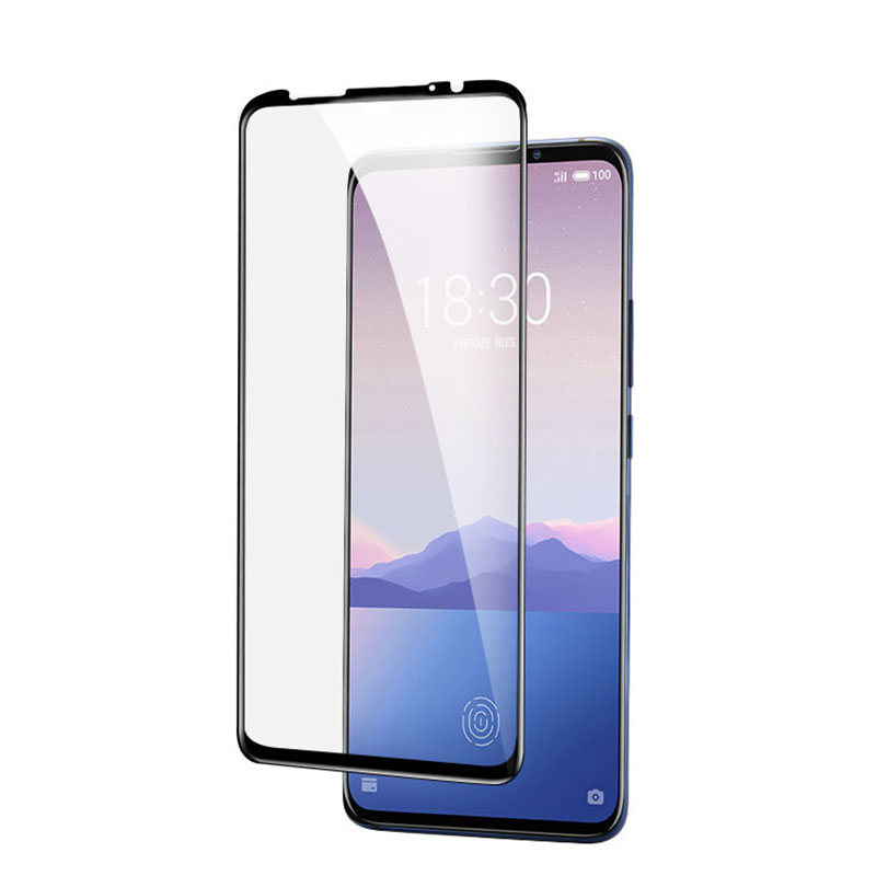 Image 3 - 3D Full Glue High aluminum Tempered Glass For Meizu 16XS Full Cover 9H Protective film Screen Protector For Meizu 16XS-in Phone Screen Protectors from Cellphones & Telecommunications