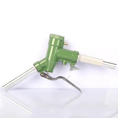 LLY-32 Fuel Diesel Petrol Oil Delivery Gun Nozzle Dispenser With Digital Flow Meter manual dispensing diesel oil fuel re filling delivery nozzle triggle gun