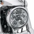 """2016 Nueva Moto Accesorios 5.75 """"linterna de la motocicleta 5 3/4"""" llevó la linterna para Harley 5-3/4 """"Cromo de la motocicleta Proyector Daymaker"""