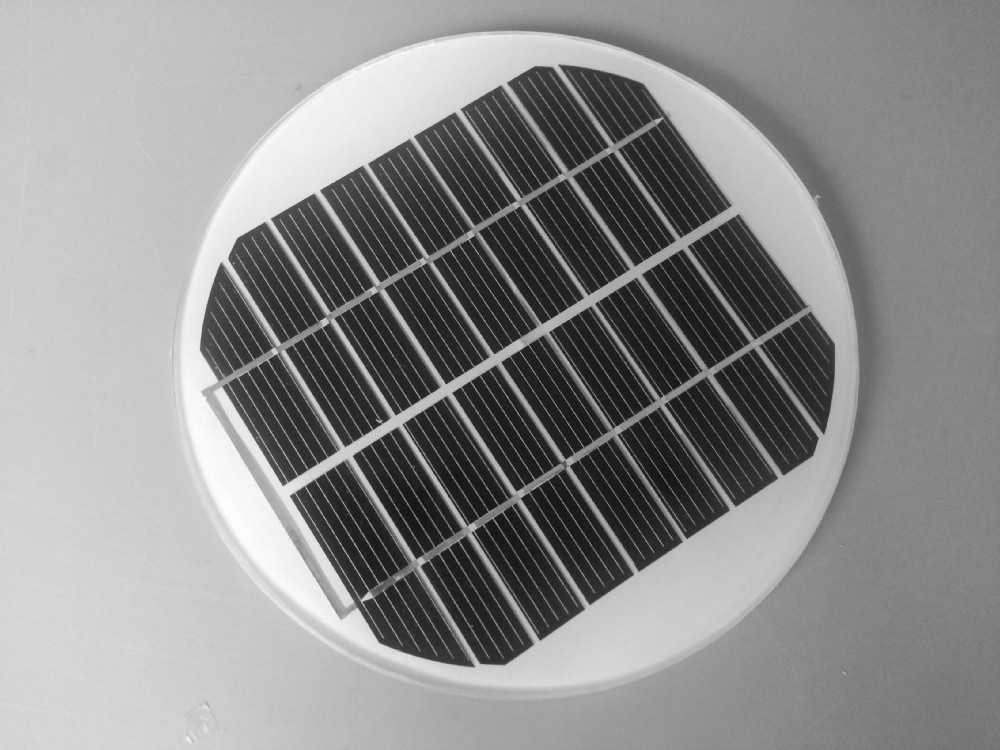 .Mini solar panel PV module --5W/12V mono cells + Glass laminated + DIY solar charge system for mobile battery charging