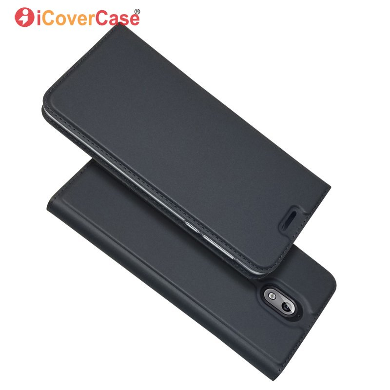 Flip Case For Nokia 3.1 Magnetic Wallet Leather Elegant Business Book Phone Case Cover For Nokia3.1 Mobile Accessory Bag Coque