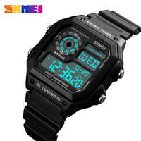 Trendy Famous Military Army Sport Watch Men Top Brand Luxury Electronic LED Digital Wristwatch Male Clock Men Relogio Masculino