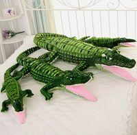 100cm Large Simulation Crocodile Plush Toy Crocodile Pillow Cushion Children S Toy Wholesale Birthday Gift
