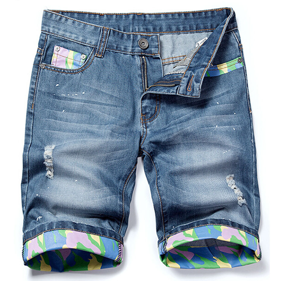 Casual Men Plus Denim Bermuda Short Shorts Size For Ropa Jeans 2015 wqHx8UI1X