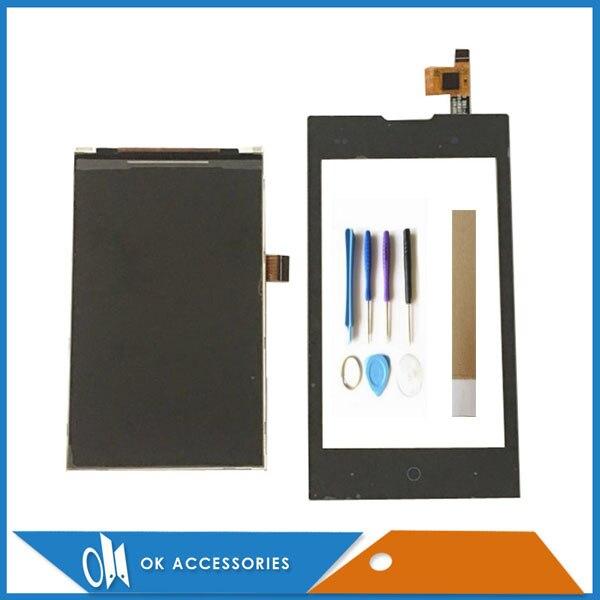 Pour ZTE Kis 2 II Max V815W V815 Écran LCD Avec Écran Tactile Noir Couleur Avec Outils et Bande