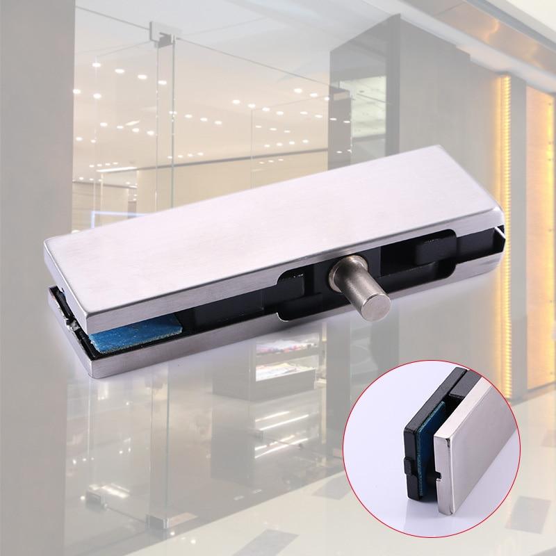Stainless Steel Pivot Frameless Glass Door Patch Clip Clamp Holder Glass Gate Shelf Bracket CLH@8 встраиваемая вытяжка elica glide ix a 90