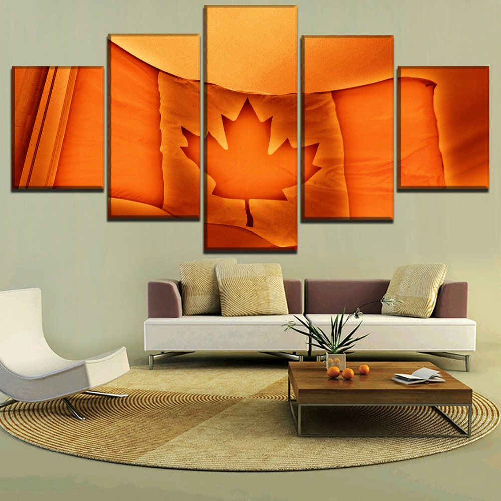 Home Decor Canada: Canvas Painting Wall Art Modular Pictures Framework Home