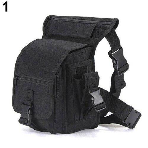 2016 moda militar cintura Pack tácticas paseo pierna bolsa utilidad muslo bolsa