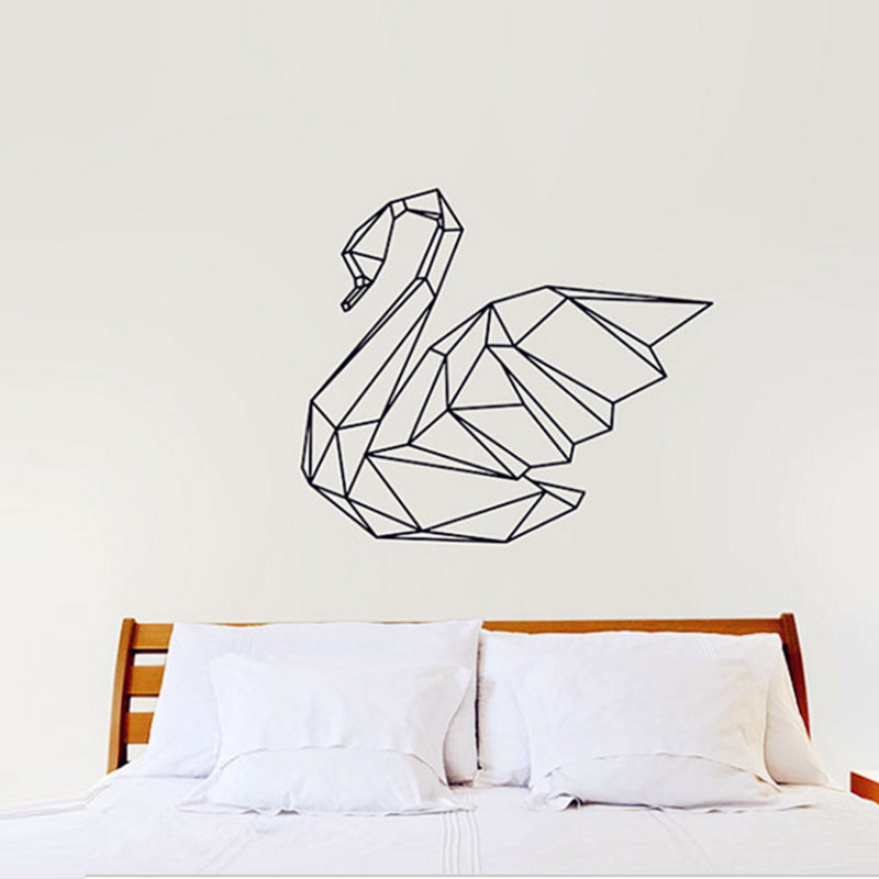 Free Shipping Personalized Monogram Headboard Vinyl Wall Decal Sticker King Queen Bedroom