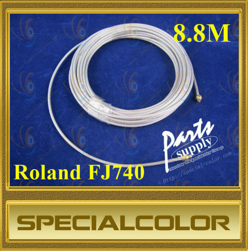 8.8M Factory Direct Carriage wire for roland FJ740 printer Printer String roland printer paper receiver for roland sj fj sc 540 641 740 vp540 series printer
