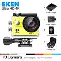 """100% Nova Original EKEN H9 Ultra HD 4 K Câmera de Esportes de Ação de Vídeo Wide Angle de 2.0 """"tela 1080 p 60fps Câmera Esporte Ir Pro extremo"""