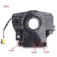 Sensor de ângulo de direção esp, mola de bobina para mola/5156106ag 5156106af para chrysler sebring calibre jeep wrangler bússola