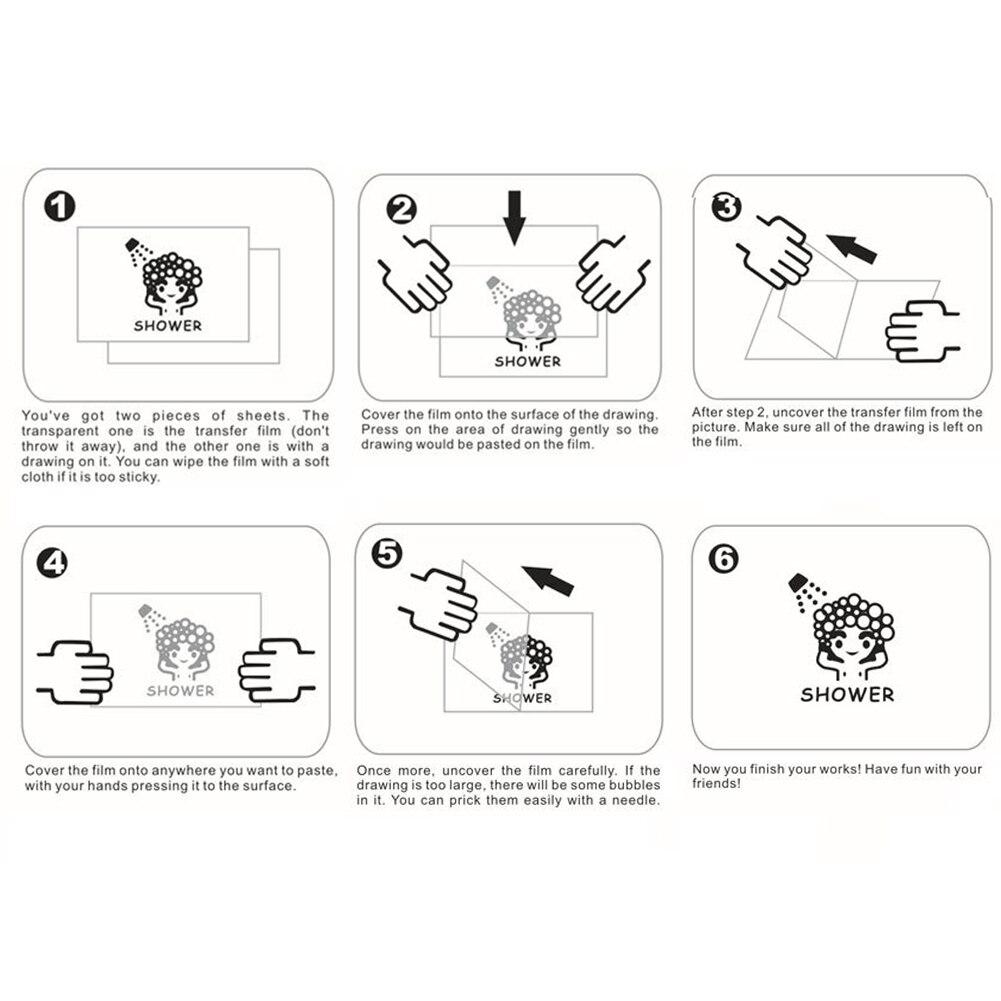 US $0 46 OFF Anak Dekorasi Kamar Tidur Lucu Kartun Panda Say HI Beralih Sticker Dinding Sticker Home Decor 10 di Wall Stickers dari Rumah & Taman