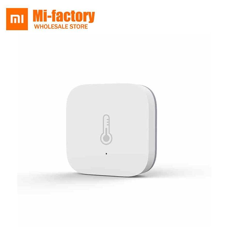 US $13 99  Xiaomi Aqara Smart Temperature Humidity Sensor ZigBee Wifi  Wireless Work With xiaomi smart home mijia Mi home App-in Smart Remote  Control