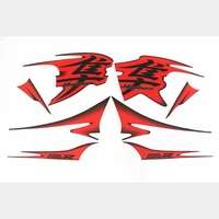 Hot Sale For Suzuki GSXR1300 HAYABUSA 2008 2012 Motorcycle 3M Screen Printing Whole Car Decal Stickers