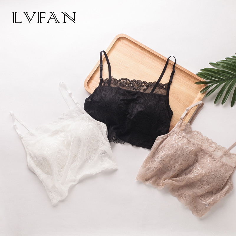 2d400be54c592 100% silk tube sling pure mulberry silk large size knitted lace wrapped  chest bottoming underwear