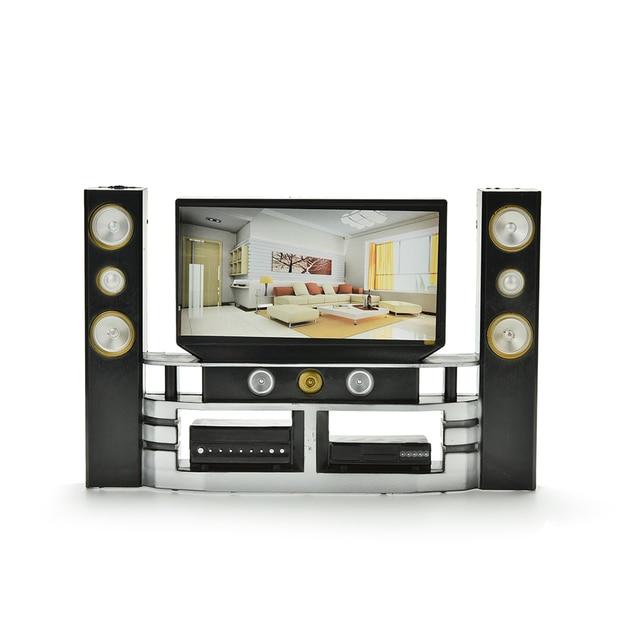 High Quality Mini Hi Fi 1:6 TV Home Theater Cabinet Set Combo For