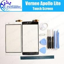 Vernee Apollo Lite Сенсорного Экрана Digitizer 100% Гарантия Оригинальное Дигитайзер Стекла Сенсорная Панель Замена Для Vernee Apollo Lite